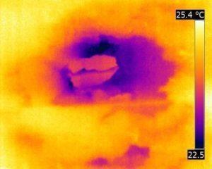 termografia infiltrazione