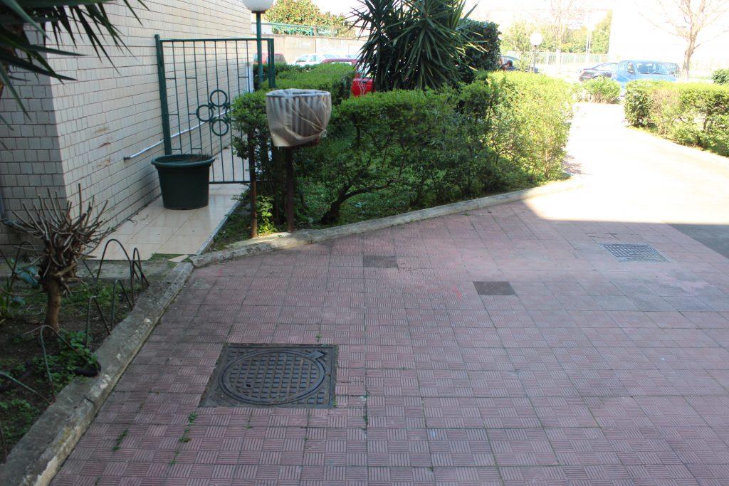 Localizzazione perdita idrica in giardino e marciapiede